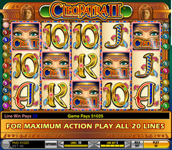 free casino slots no download cleopatra
