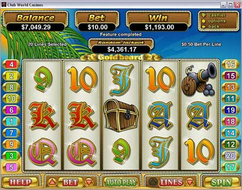 Goldbeard Slot Machine Online ᐈ RTG™ Casino Slots
