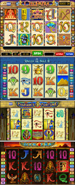 The Last Pharaoh Slot - Play this Video Slot Online