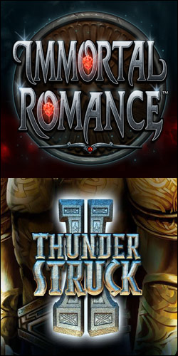 Immortal Romance slot vs Thunderstruck 2