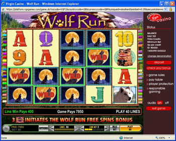 free online slot machines wolf run online casino gambling